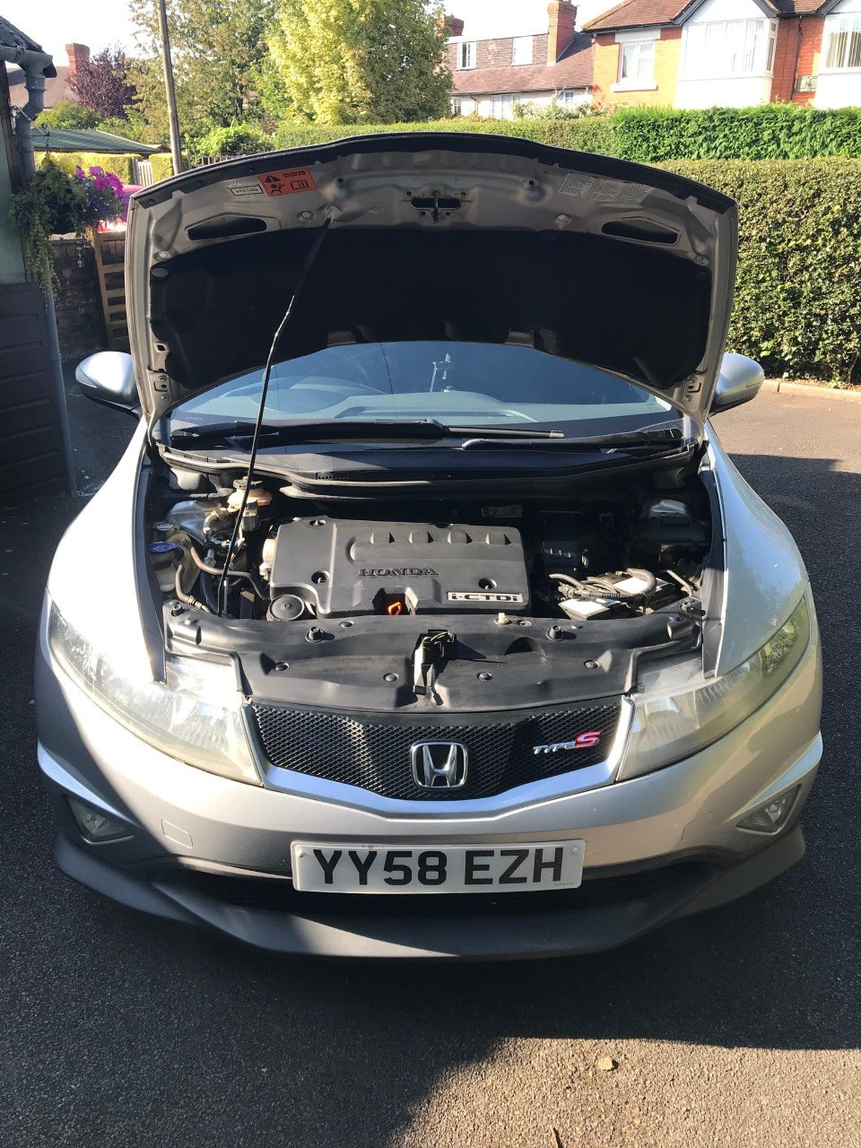 2008 Honda Civic 2.2 i-CTDi Type S GT 3dr Diesel For Sale (picture 5 of 6)