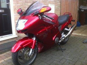 1999 HONDA BLACKBIRD RED