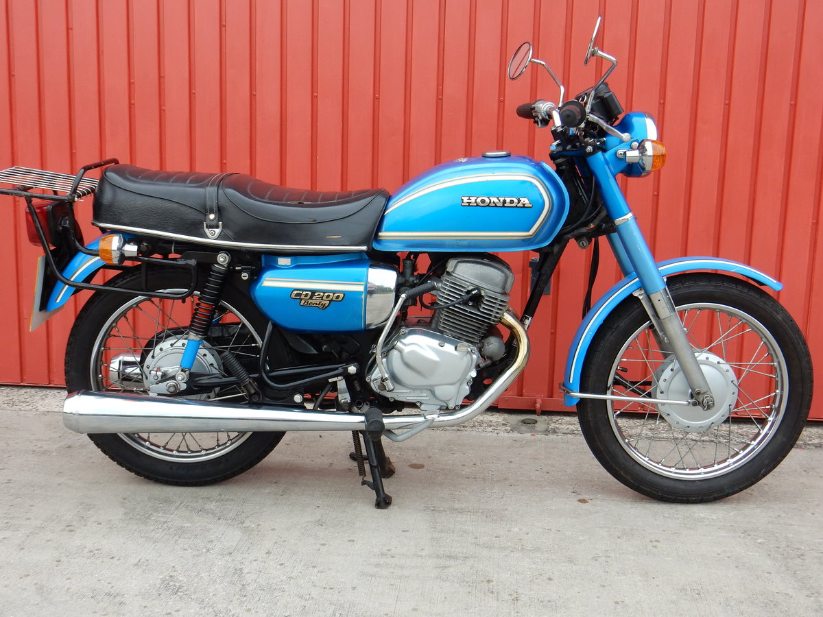 Honda CD200 Benly 1980 - MOT'd May 2020 For Sale (picture 1 of 6)