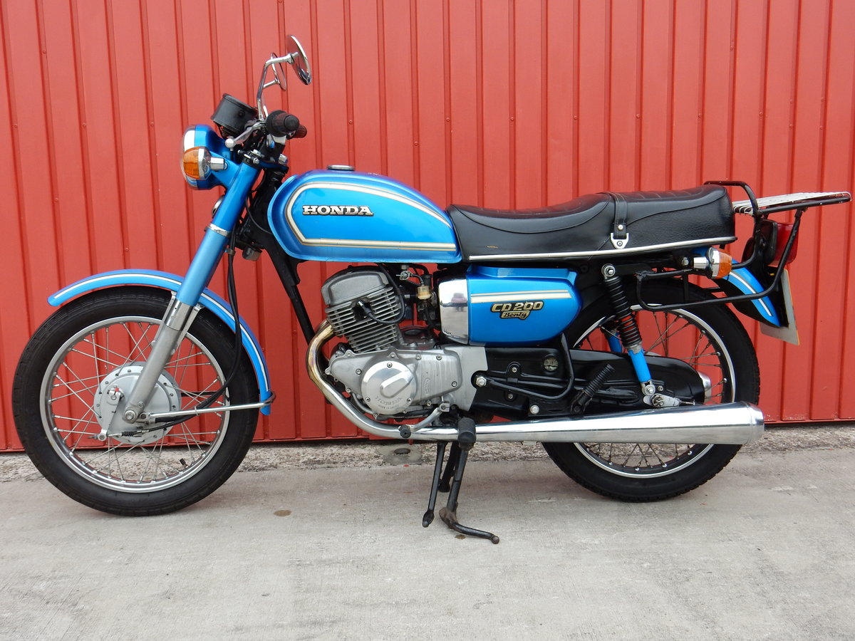 Honda CD200 Benly 1980 - MOT'd May 2020 For Sale (picture 2 of 6)