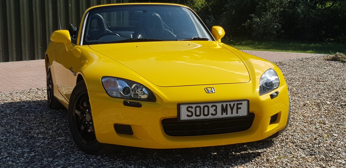 2003 29000  mile  INDY  YELLOW  S2000  STUNNING  HUGE  HISTORY  F For Sale (picture 1 of 6)