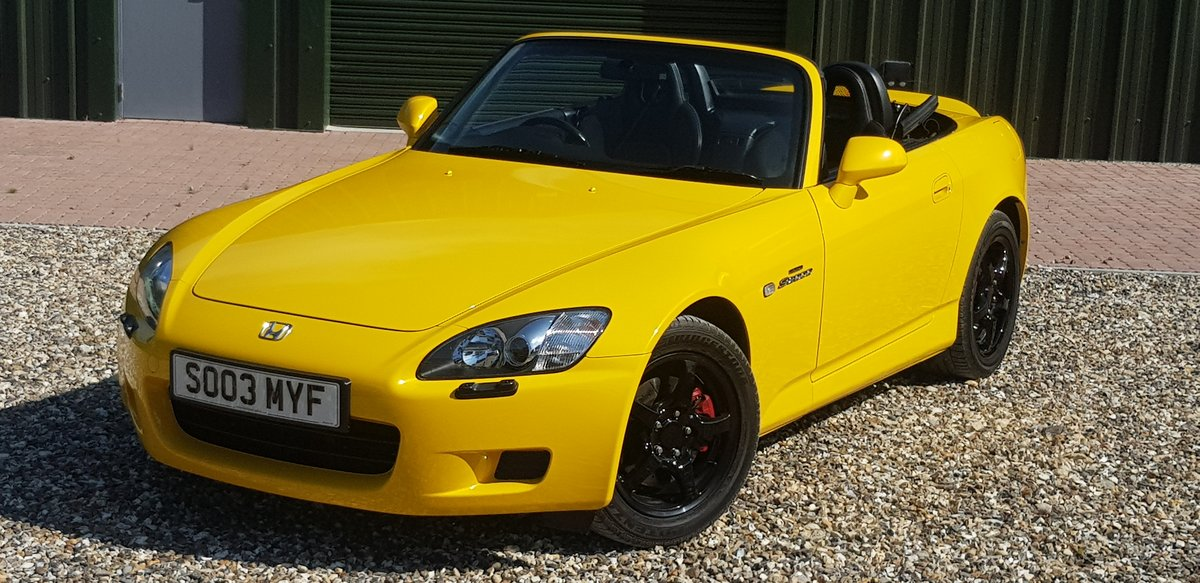 2003 29000  mile  INDY  YELLOW  S2000  STUNNING  HUGE  HISTORY  F For Sale (picture 2 of 6)