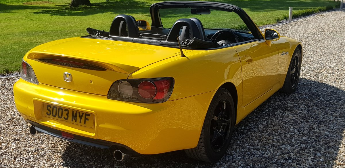 2003 29000  mile  INDY  YELLOW  S2000  STUNNING  HUGE  HISTORY  F For Sale (picture 4 of 6)