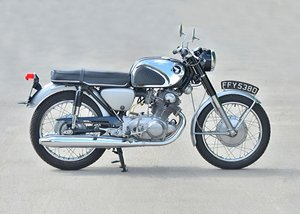 1966 Honda CB72 250cc Super Sport For Sale by Auction