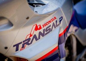 2000 Honda Transalp XL600V 50th Anniversary SOLD by Auction