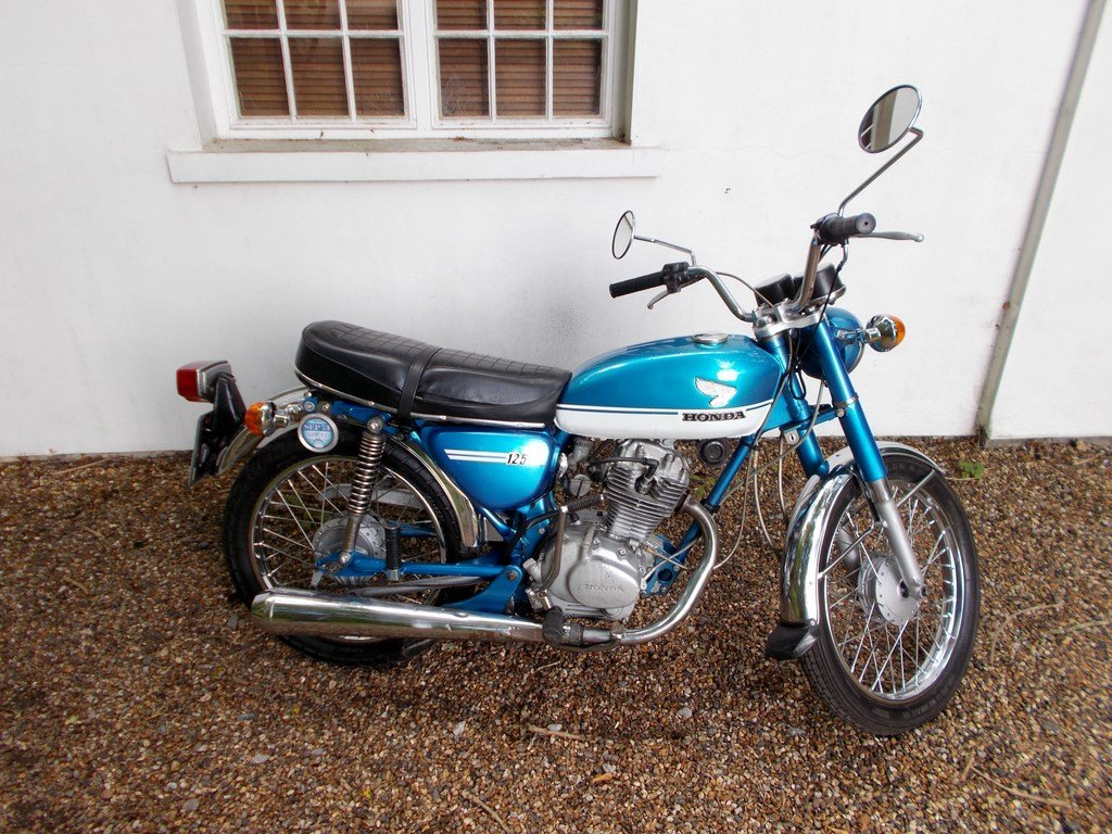1973 Honda CB125S  Barn Find Project SOLD (picture 1 of 6)