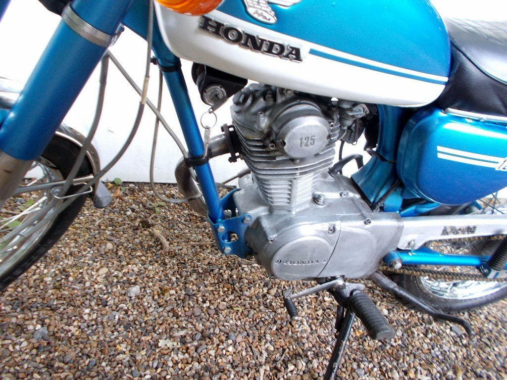 1973 Honda CB125S  Barn Find Project SOLD (picture 3 of 6)