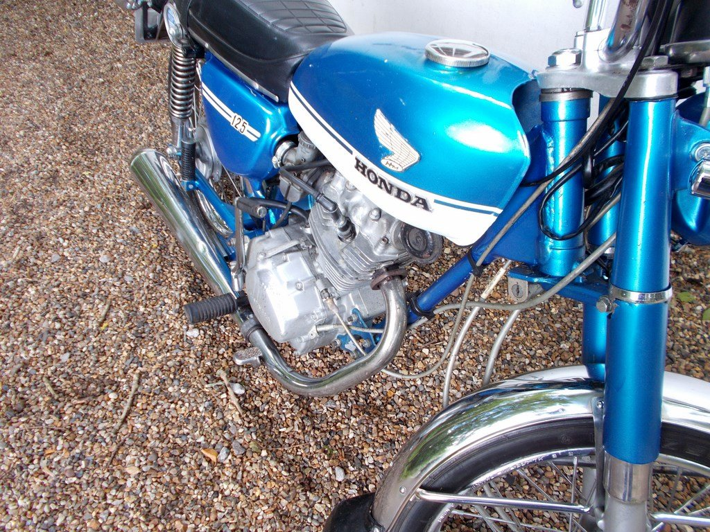 1973 Honda CB125S  Barn Find Project SOLD (picture 4 of 6)