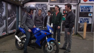2006 inbetweeners motorbike from the hit TV show For Sale