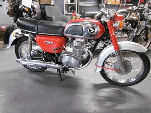 1971 Honda CD175  Timewarp condition UK bike