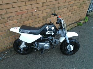 1993 HONDA Z50R MONKEY BIKE() WHITE! RARE COOL MINI BIKE!