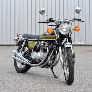 1974 Honda CB550 K1, 1621 miles