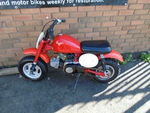 HONDA Z50R MONKEY BIKE(1982)RED!VERY NICE MINI BIKE For Sale