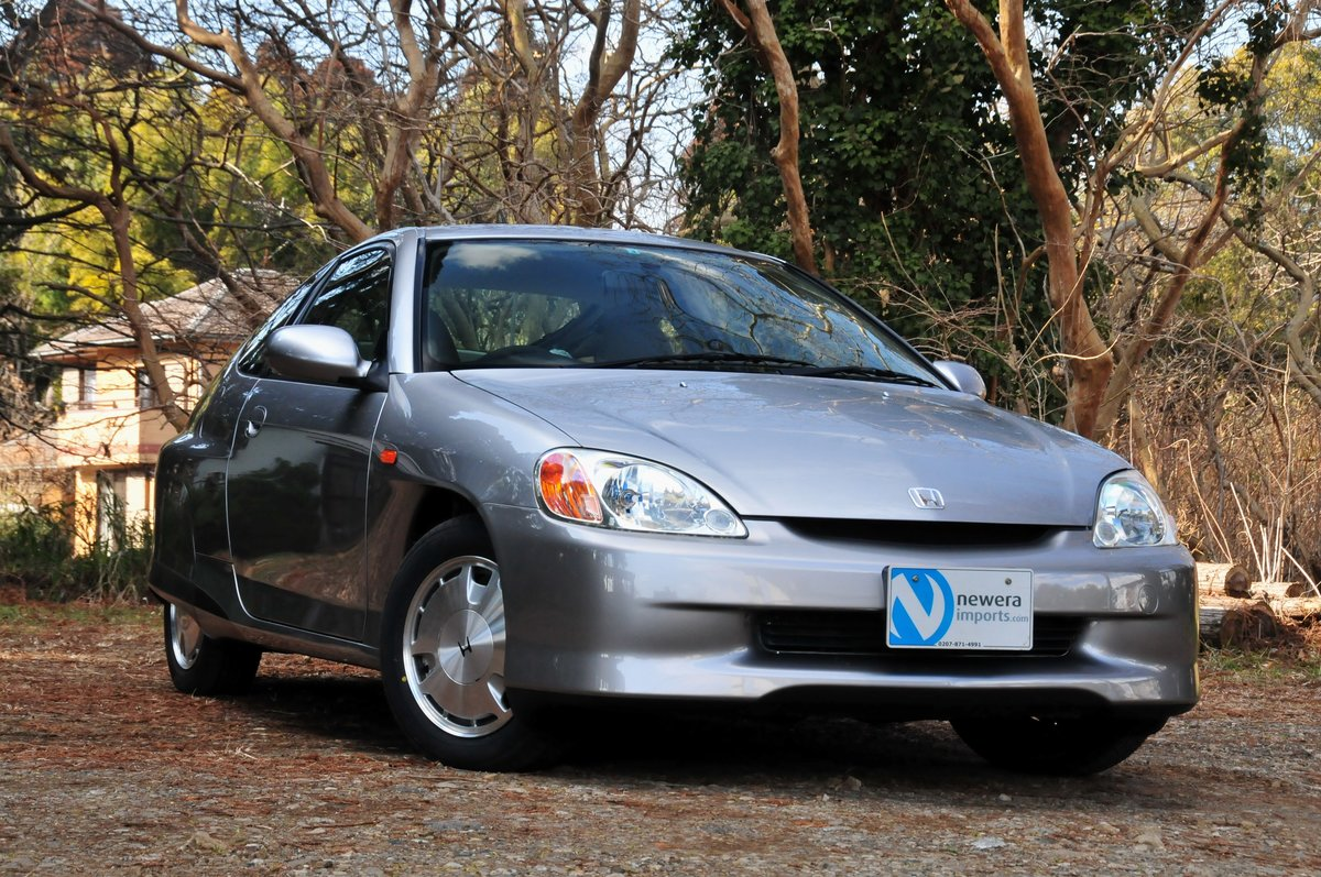 2006 Honda Insight ZE1 Coupe.5-Speed Manual. Concourse Condition. SOLD (picture 1 of 6)