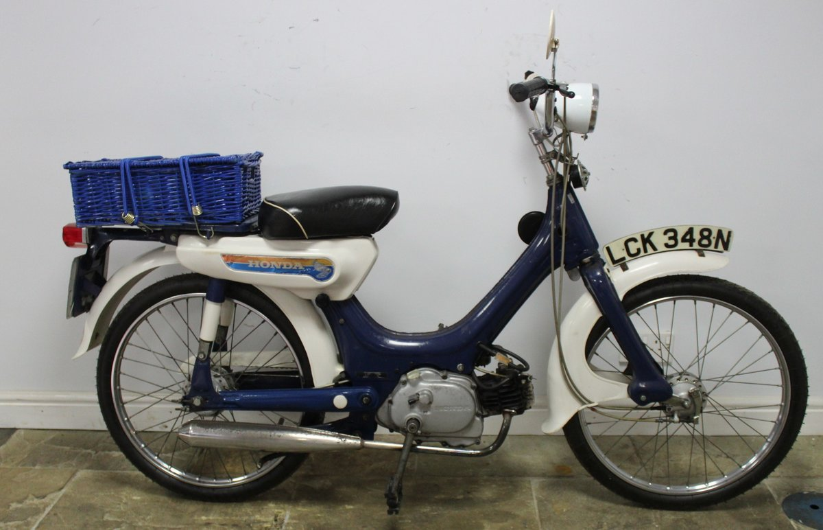 1975 Honda PC50 Moped presented in excellent original condit SOLD (picture 1 of 6)