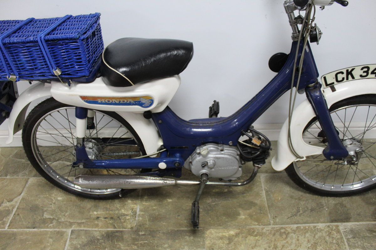 1975 Honda PC50 Moped presented in excellent original condit SOLD (picture 3 of 6)