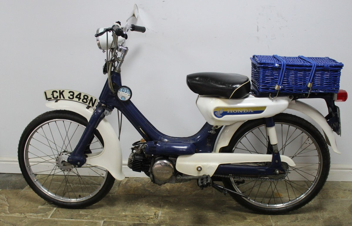 1975 Honda PC50 Moped presented in excellent original condit SOLD (picture 4 of 6)