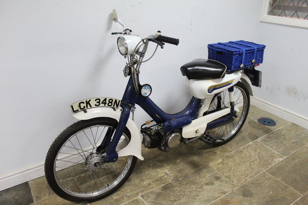 1975 Honda PC50 Moped presented in excellent original condit SOLD (picture 5 of 6)
