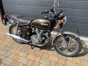 1977 Honda CB500 T Twin Original UK