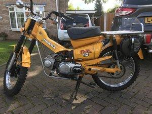 1978 Honda CT90 (uk registered) For Sale