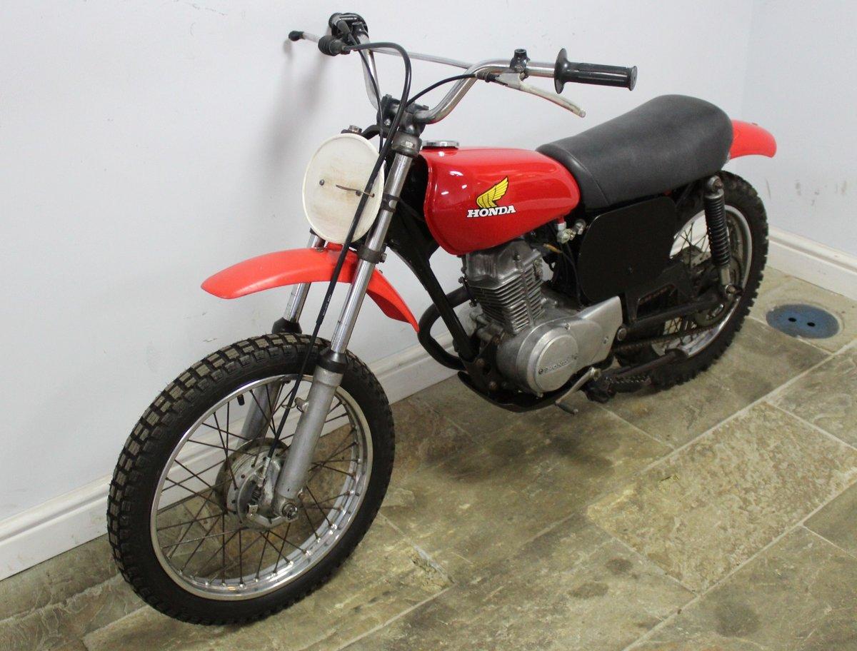 1976 Honda XR75 Four Stroke  Moto Cross Bike , Very original SOLD (picture 4 of 5)