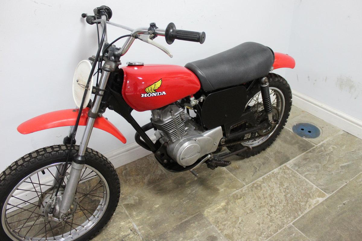 1976 Honda XR75 Four Stroke  Moto Cross Bike , Very original SOLD (picture 5 of 5)