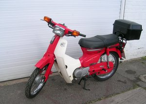 1989 Honda C90 Cub Economy Vintage Moped For Sale