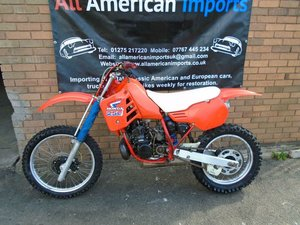 1985 HONDA CR250 R WATER COOLED MOTO X EVO SCRAMBLER SOLD