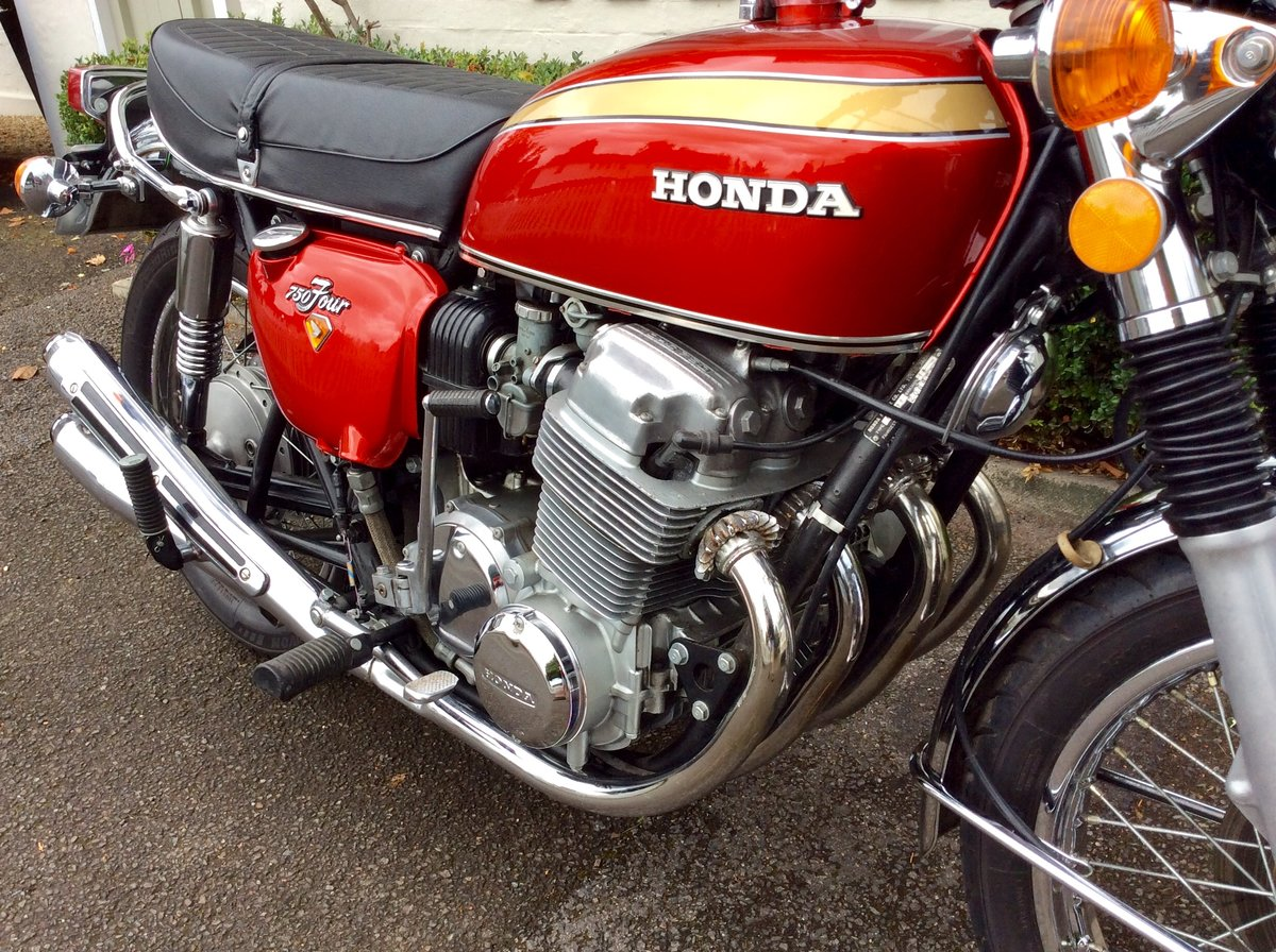 1972 Honda CB750K2 SOLD (picture 4 of 6)