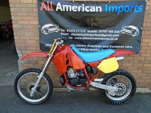 HONDA CR500 R WATER COOLED MOTO X EVO SCRAMBLER(1988)  SOLD