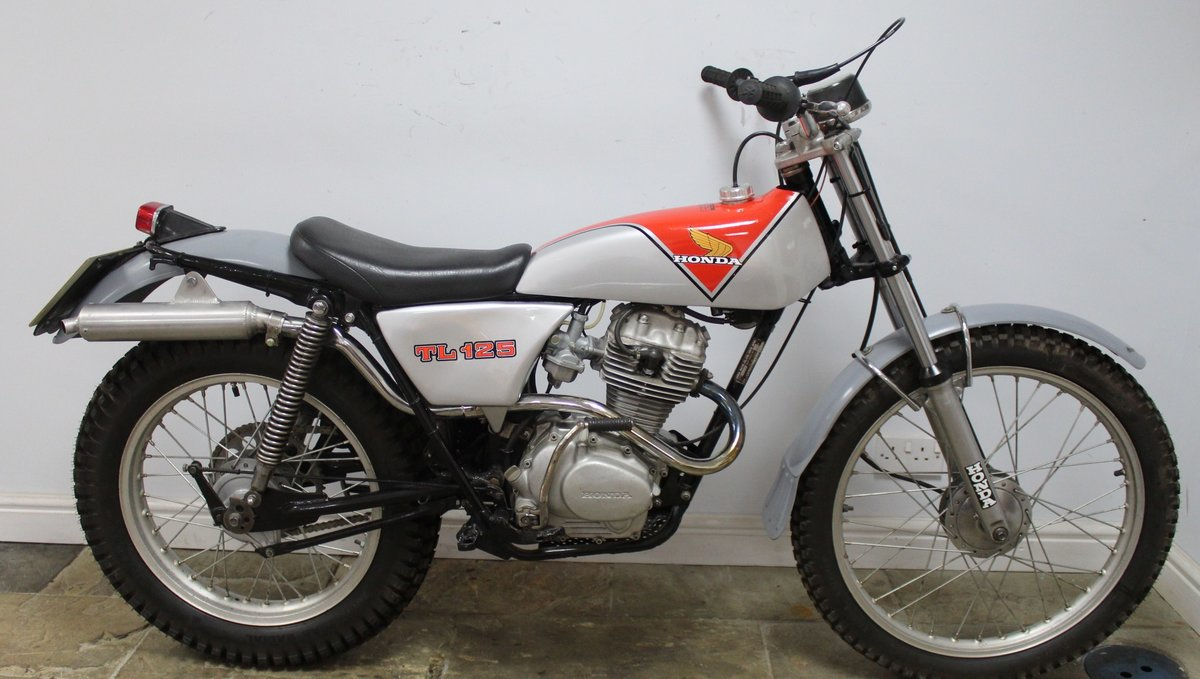 1978 978 Honda TL 125 Road registered with V5C  For Sale (picture 1 of 6)