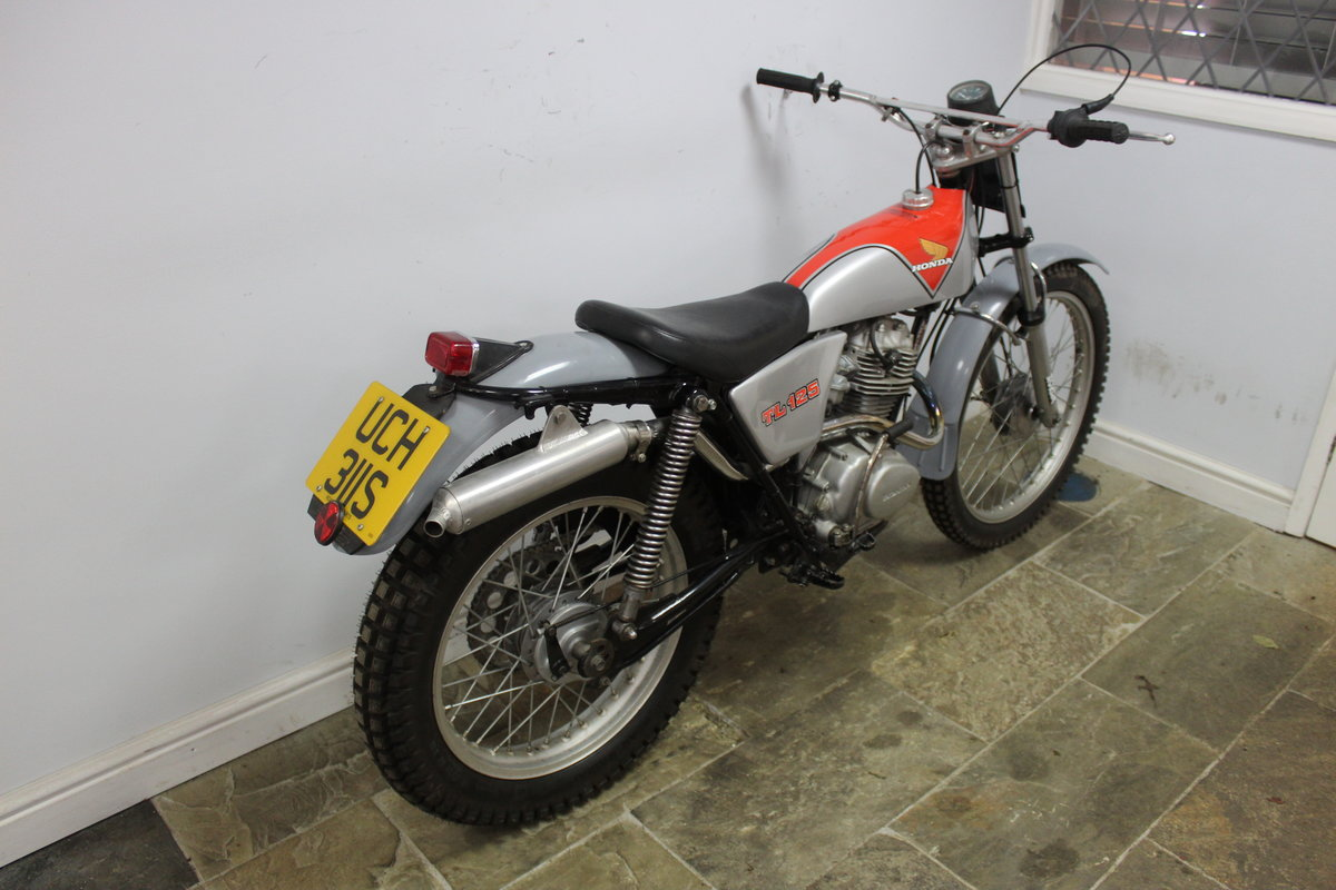 1978 978 Honda TL 125 Road registered with V5C  For Sale (picture 2 of 6)