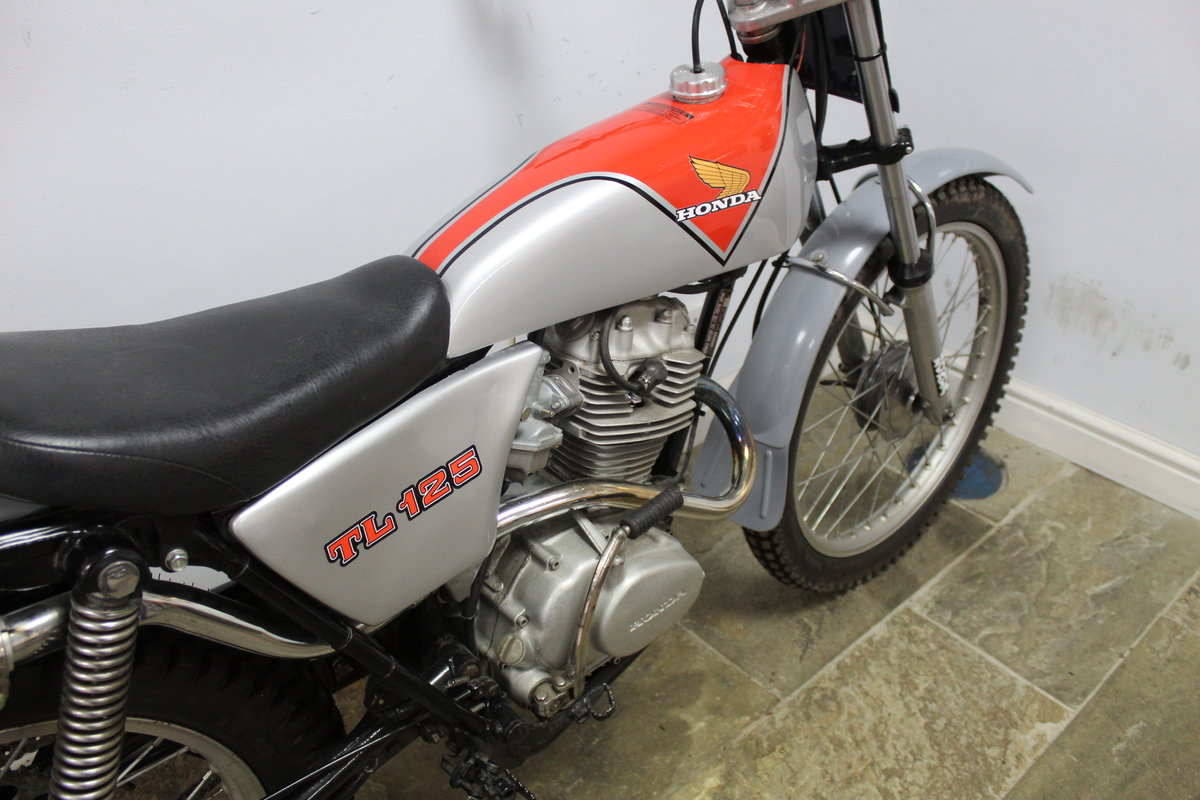 1978 978 Honda TL 125 Road registered with V5C  For Sale (picture 3 of 6)