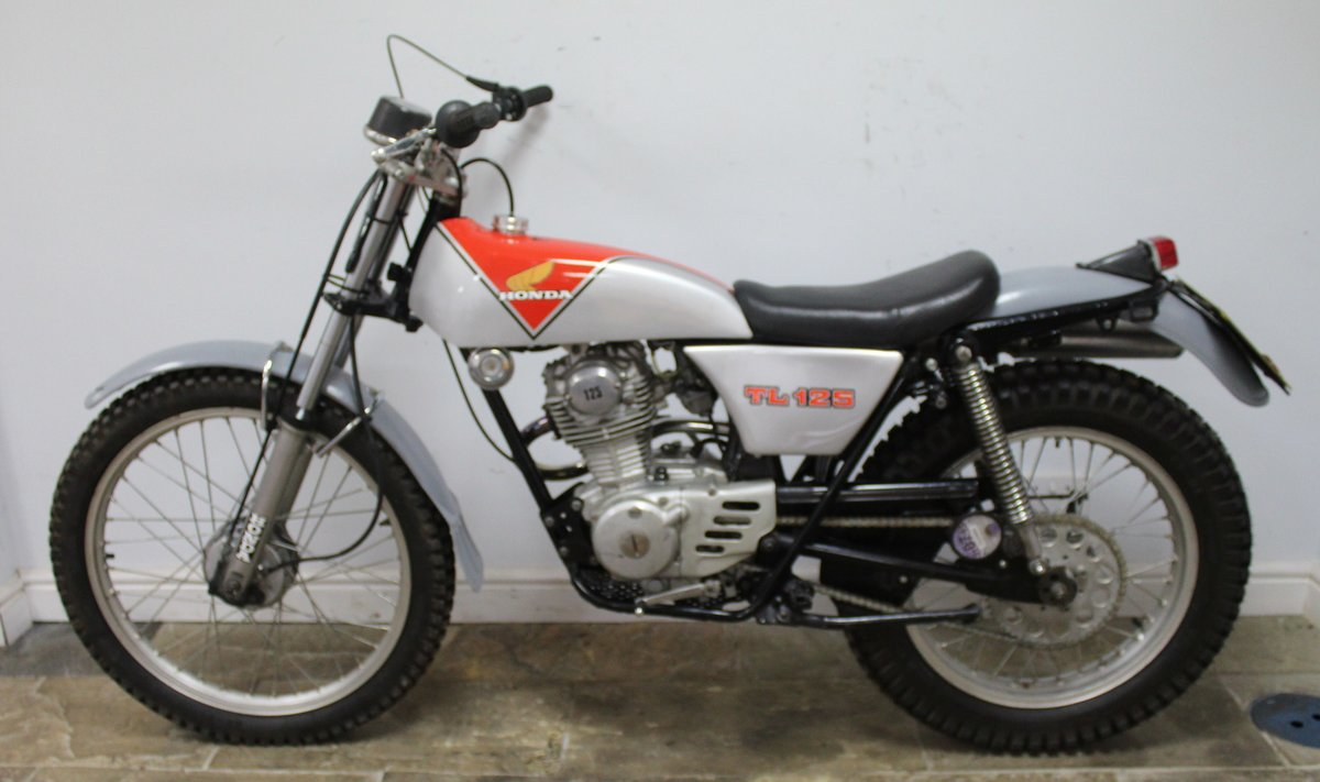 1978 978 Honda TL 125 Road registered with V5C  For Sale (picture 4 of 6)