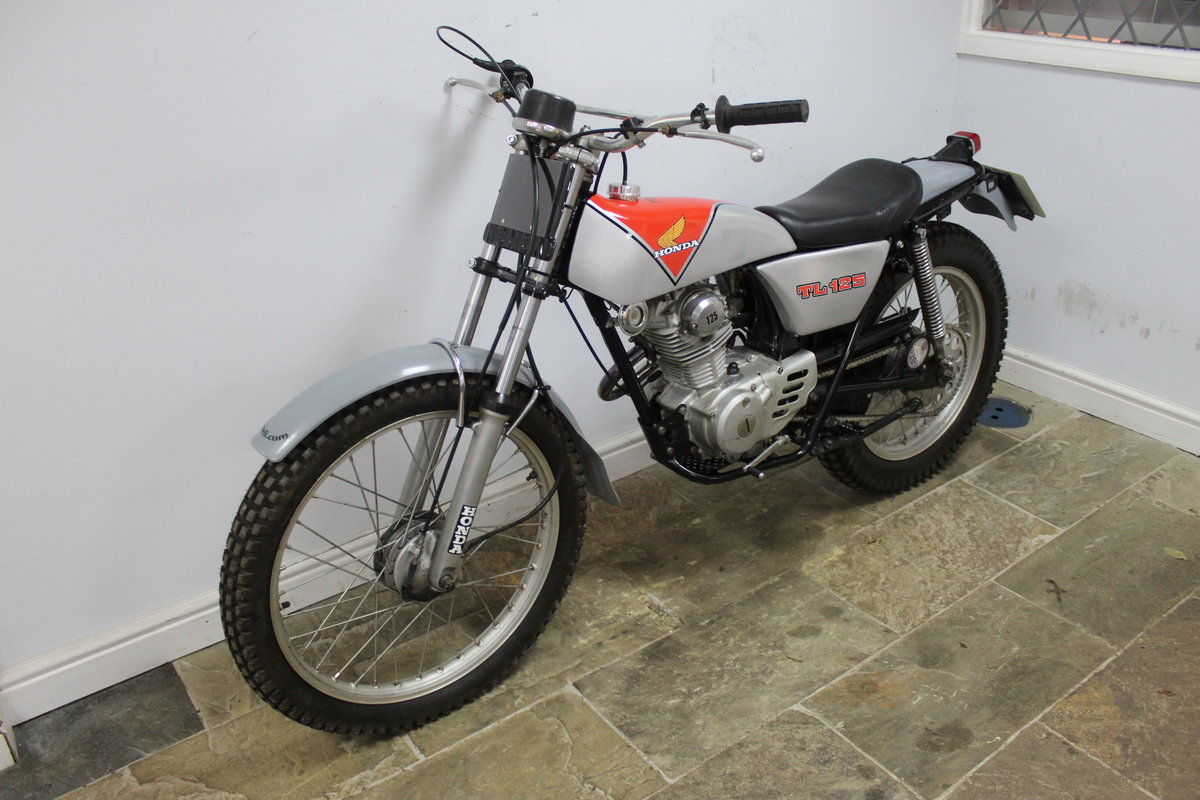 1978 978 Honda TL 125 Road registered with V5C  For Sale (picture 5 of 6)