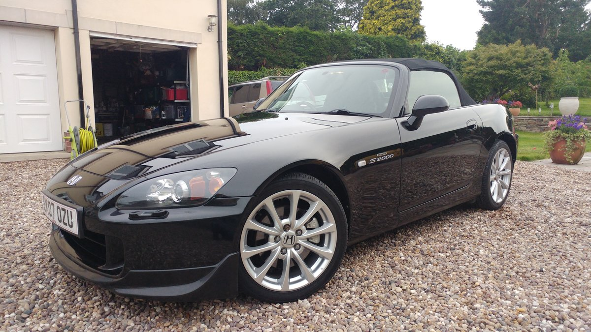 2007 Honda S2000 Berlina Black For Sale (picture 3 of 5)