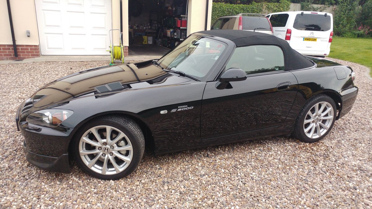 2007 Honda S2000 Berlina Black For Sale (picture 4 of 5)