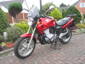 2003 Regrettable sale of my beautiful Honda CB500 Twin
