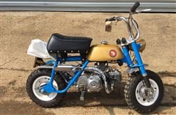 1969 Z50A MonkeyBike John Surtees CBE Trib-Barons Fri 20 Sep 2019 SOLD by Auction