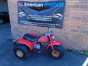 HONDA ATC 110 ATV 3 WHEELER (1982) RED US IMPORT For Sale