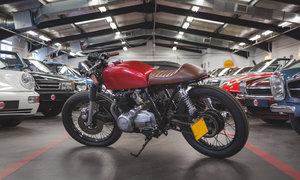 1976 Honda CB400F Custom Café Racer /// Recent Build