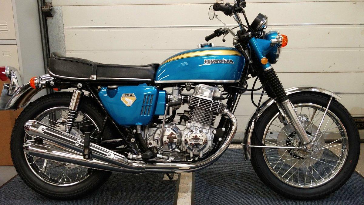 Honda CB 750 K0 SANDCAST 1969-G **VIN NUMBER 750!!** For Sale (picture 1 of 6)