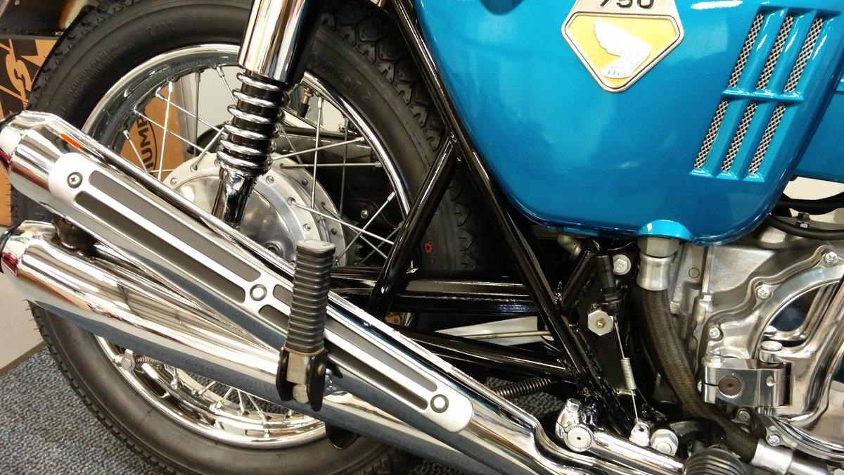 Honda CB 750 K0 SANDCAST 1969-G **VIN NUMBER 750!!** For Sale (picture 3 of 6)
