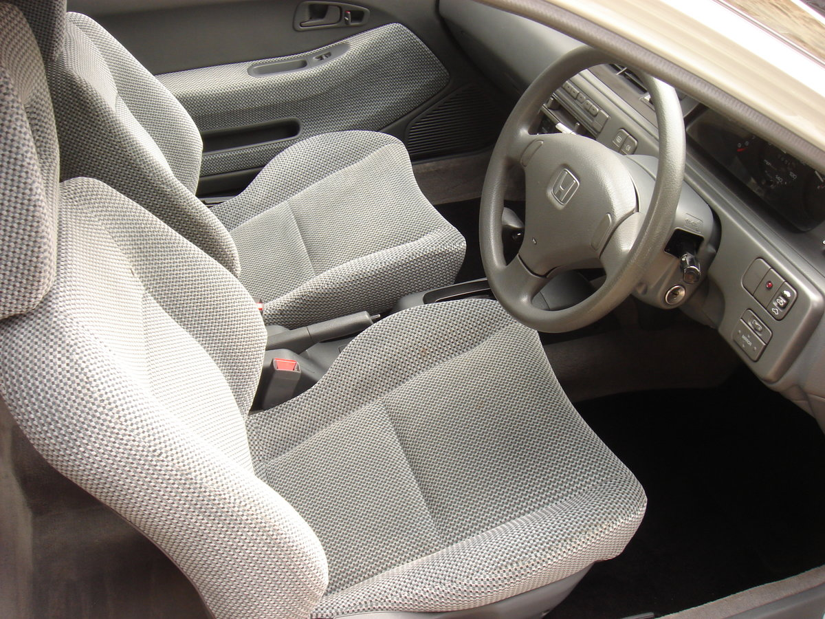 1993 K HONDA CIVIC 1.6 ESi 3DR AUTOMATIC. 1 LADY OWNER.  For Sale (picture 2 of 6)