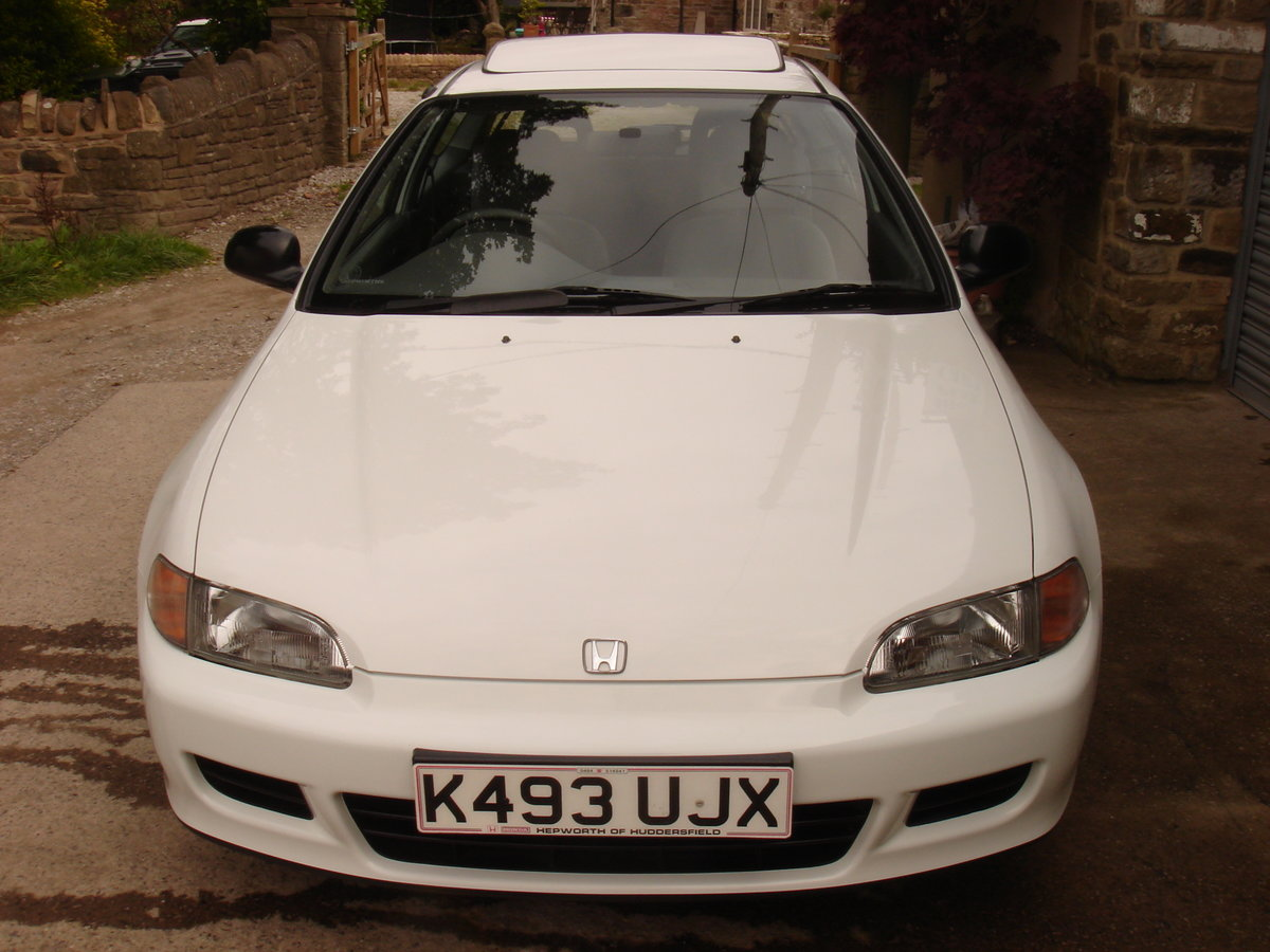 1993 K HONDA CIVIC 1.6 ESi 3DR AUTOMATIC. 1 LADY OWNER.  For Sale (picture 3 of 6)