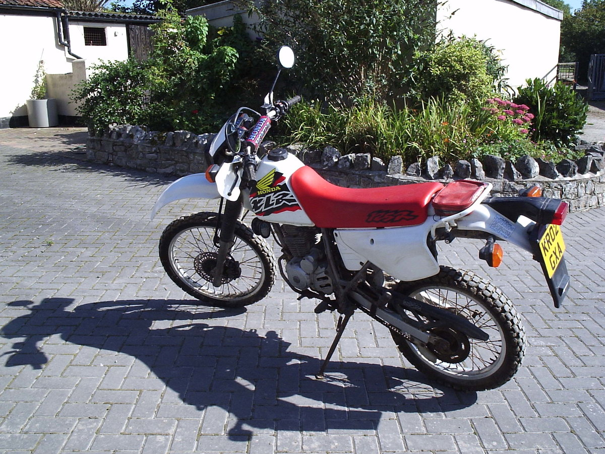 2002 Honda XLR125 SOLD (picture 2 of 4)