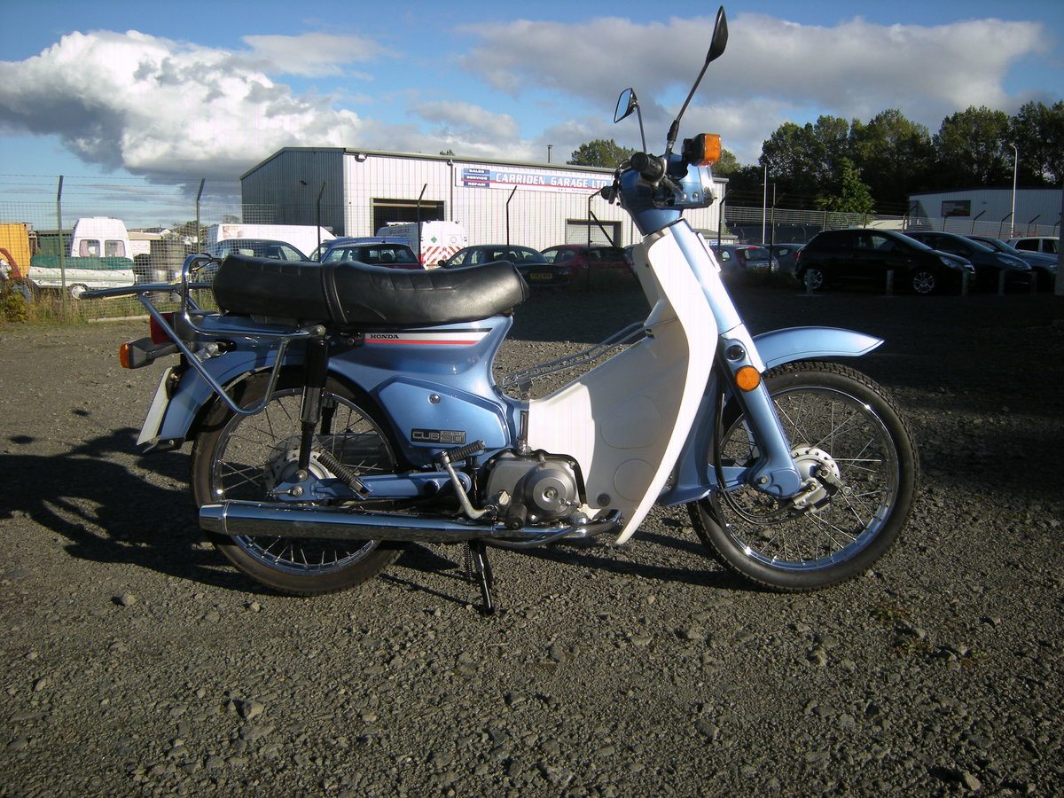 1997 HONDA C90 CUB. 1 YEARS MOT For Sale (picture 1 of 3)