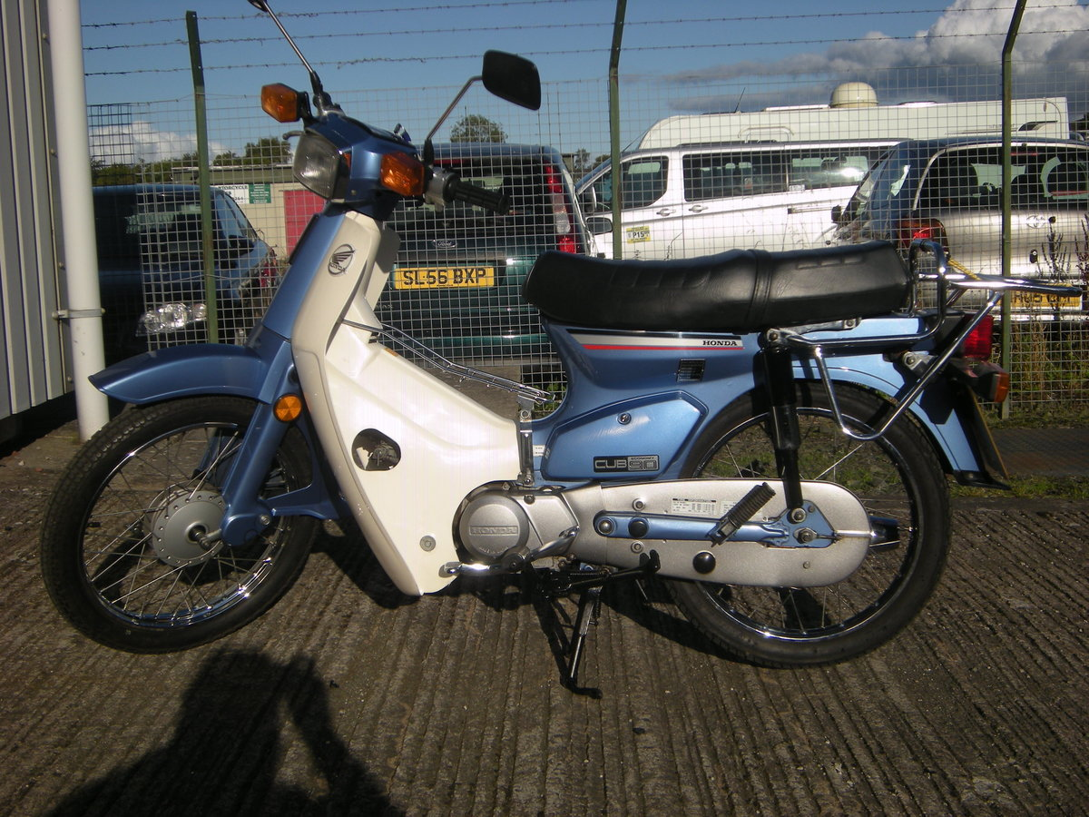 1997 HONDA C90 CUB. 1 YEARS MOT For Sale (picture 2 of 3)