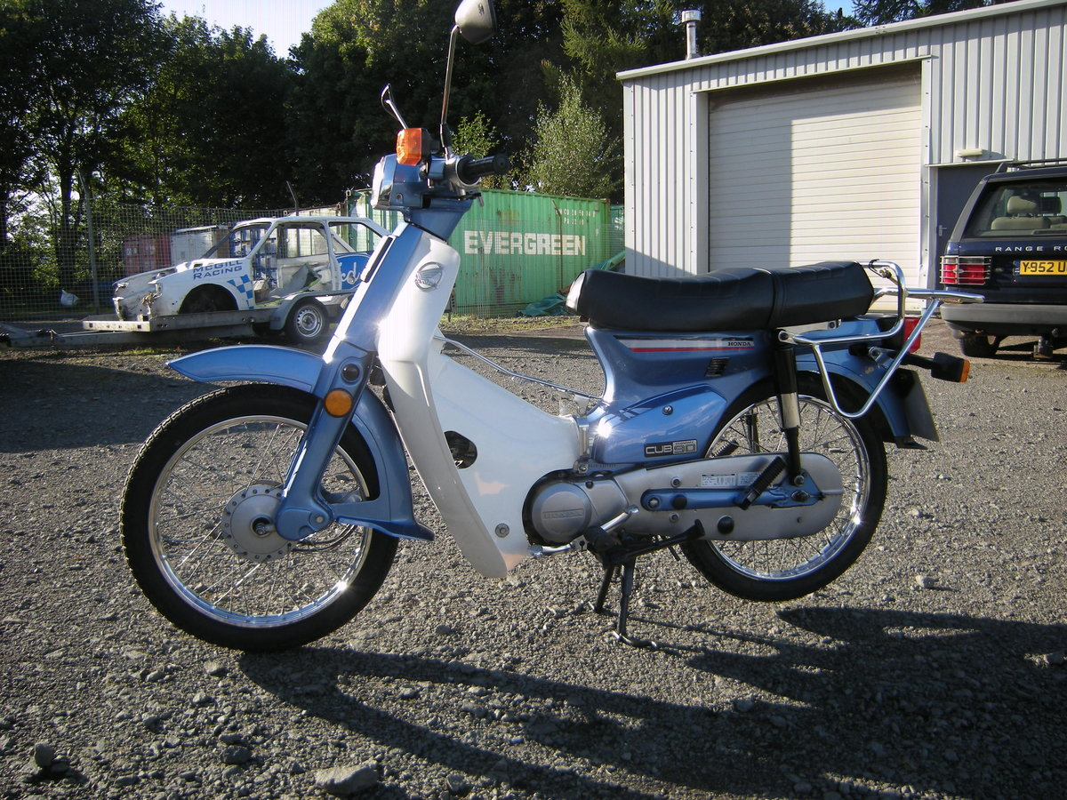 1997 HONDA C90 CUB. 1 YEARS MOT For Sale (picture 3 of 3)