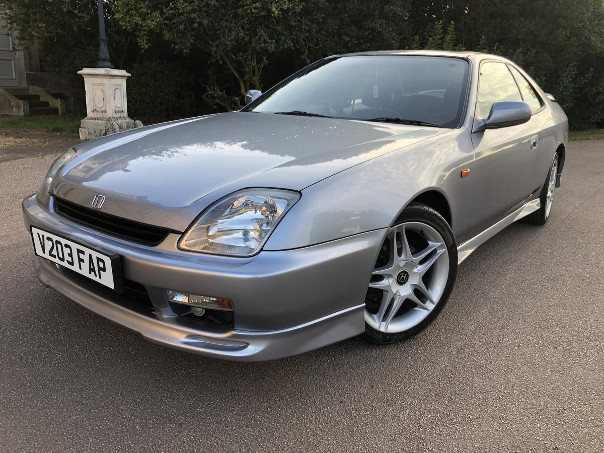 1999 Honda Prelude 2.2i VTEC 4WS Motegi BB8 Red Top For Sale (picture 1 of 6)
